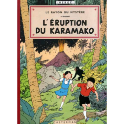 Jo, Zette et Jocko (Fac-similé) - Tome 4 - Le Rayon du Mystère 2e épisode, l'éruption du Karamako