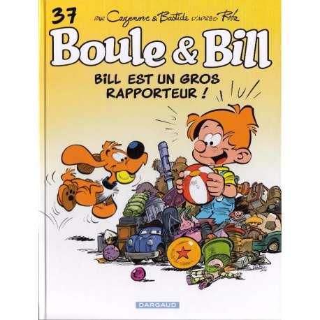 Boule et Bill -02- (Édition actuelle) - Tome 37 - Bill est un gros rapporteur !