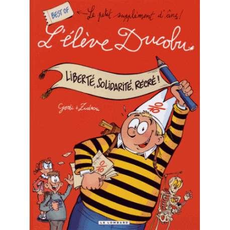 Élève Ducobu (L') - Best-Of 1 - Liberté, Solidarité, Récré !