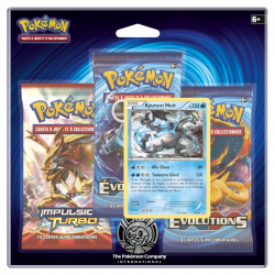 Pack 3 boosters Pokémon XY 12 Evolutions