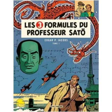 Blake et Mortimer - Tome 11 - Les 3 Formules du Professeur Satô - Tome 1