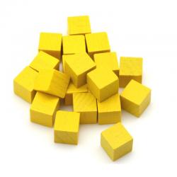 Cube 8mm Jaune