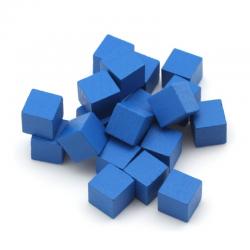 Cube 8mm Bleu