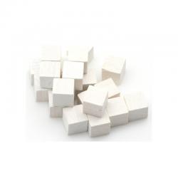 Cube 8mm Blanc