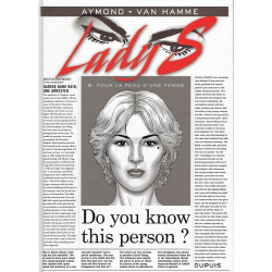 Lady S. - Tome 9 - Pour la peau d'une femme