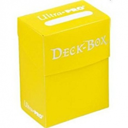 Boîte polydeck Ultra-Pro - Jaune