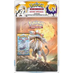 Pack cahier range-cartes + Booster Pokémon SL01