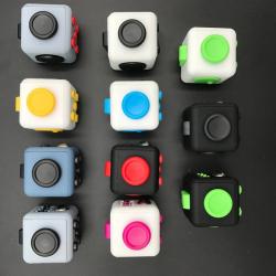 Fidget Cube Gris & Noir