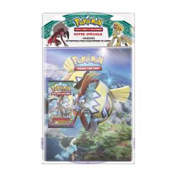 Pack cahier range-cartes + Booster Pokémon SL02