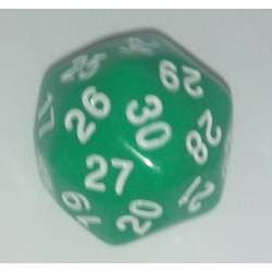 D30 - OPAQUE - Vert/Blanc