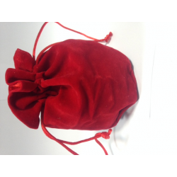 Bourse - Grand Format - Satin Rouge
