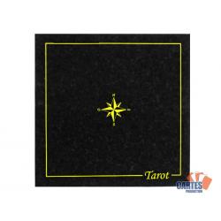 Tapis Tarot Suédine (60/60 cm) Noir