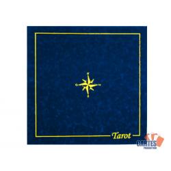 Tapis Tarot Suédine (60/60 cm) Bleu