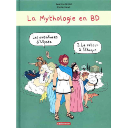 Mythologie en BD (La) - Tome 2 - Les aventures d'Ulysse - Le retour à Ithaque