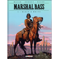 Marshal Bass - Tome 1 - Black & white