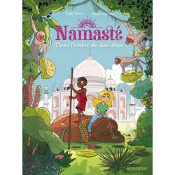 Namasté - Tome 2 - Dans l'ombre du dieu singe