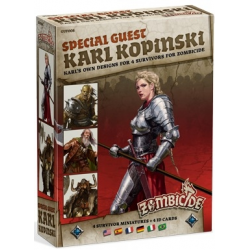 Zombicide Black Plague : Special Guest Karl Kopinski