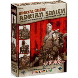 Zombicide Black Plague : Special Guest Adrian Smith