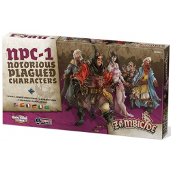 Zombicide Black Plague : N.P.C. 1