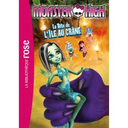 Monster High - Tome 10 - La Bête de l'île au crâne