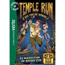 Temple Run - Tome 02 - La malédiction du masque d'or