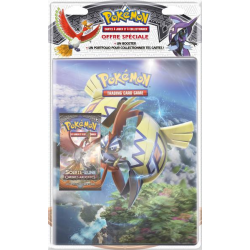 Pack cahier range-cartes + Booster Pokémon SL03