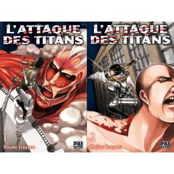 L'attaque des titans Tomes 1 et 2