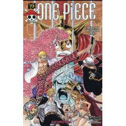 One Piece - Tome 73 - L'opération dressrosa s.o.p.