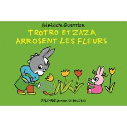 Trotro et Zaza arrosent les fleurs