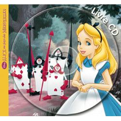 Alice au pays des merveilles, mon petit livre cd