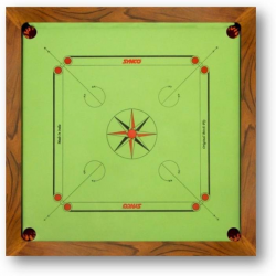 Carrom Bull Dog Green