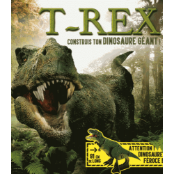 T-Rex - Construis ton dinosaure géant