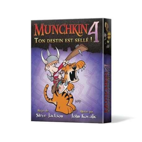 Munchkin (2e éd.) 4 : Ton Destin est Sellé !