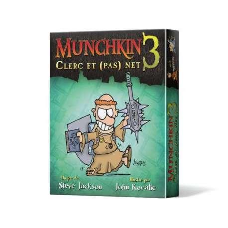 Munchkin (2e éd.) 3 : Clerc et (pas) Net