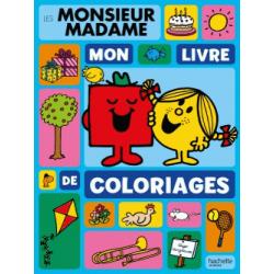 Les Monsieur Madame - Mon livre de coloriages