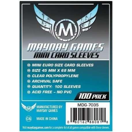 Protèges cartes Mini Euro Card (45x68mm) x100