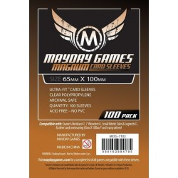 Protèges cartes Magnum Ultra-Fit 7 Wonders Card (65x100mm) x100
