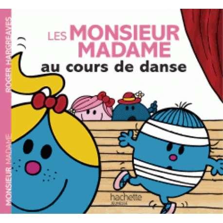 Les Monsieur Madame au cours de danse