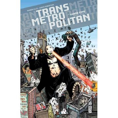 Transmetropolitan (Urban Comics) - Tome 5 - Année Cinq