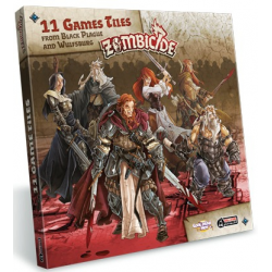 Zombicide Black Plague : Extra Games Tiles Pack