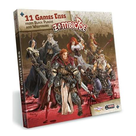Zombicide Black Plague : Extra Games Tiles Pack