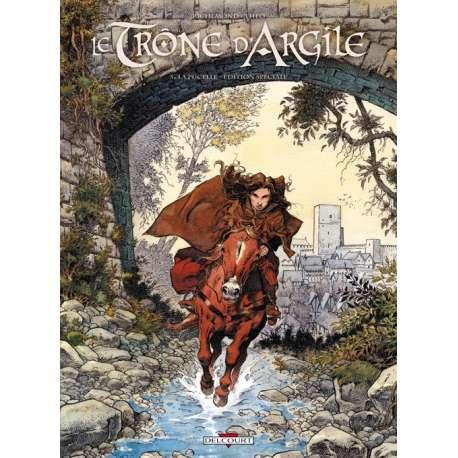 Trône d'Argile (Le) - Tome 5 (Édition Spéciale) - La pucelle