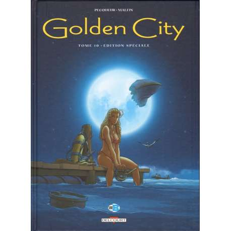 Golden City - Tome 10 Ed Luxe N&B - Orbite terrestre basse