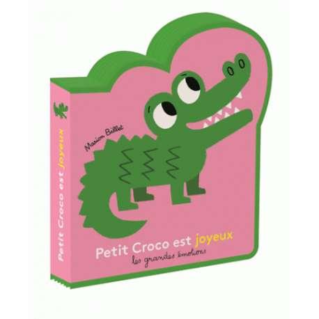 Petit Croco est joyeux