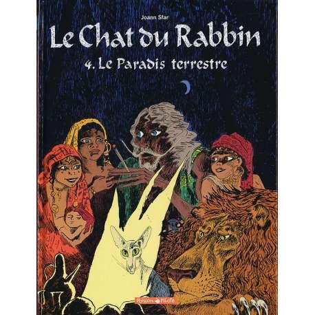 Chat du Rabbin (Le) - Tome 4 - Le Paradis Terrestre