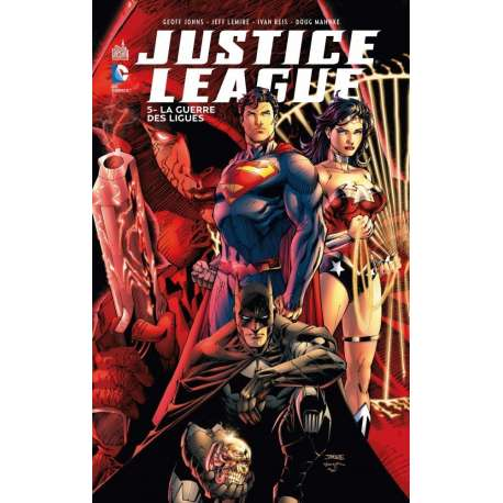 Justice League (DC Renaissance) - Tome 5 - La Guerre des Ligues