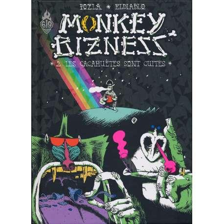 Monkey bizness - Tome 2 - Les cacahuètes sont cuites