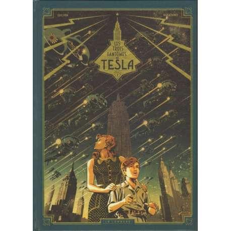 Trois Fantômes de Tesla (Les) - Tome 1 - Le mystère Chtokavien