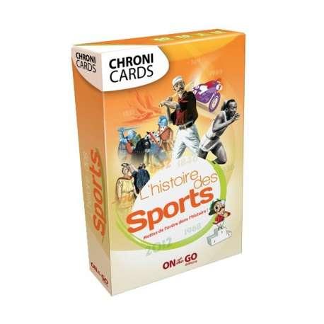 """Chronicards """"Histoire du Sport"""""""
