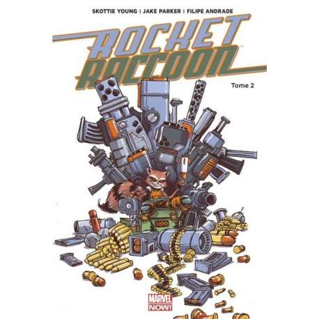Rocket Raccoon (Marvel Now!) - Tome 2 - Monstre en folie